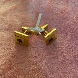 Gold Tone Cufflinks